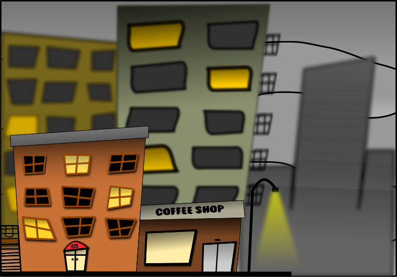 STREET by MONARK1981 - This would be my first drawing made in Inkscape