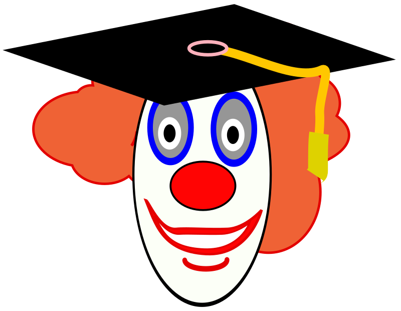 Clown School Graduate by FunDraw_dot_com