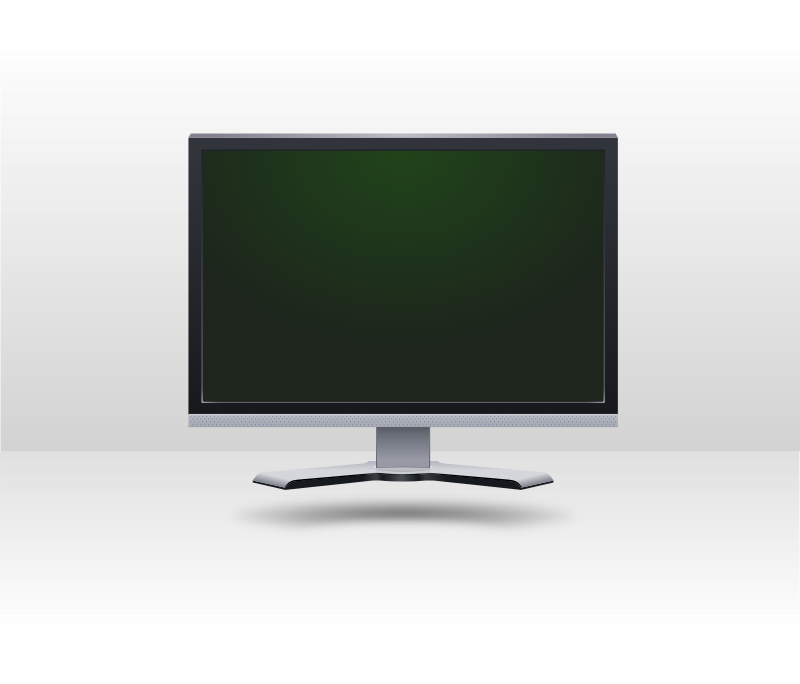 Clipart - LCD screen