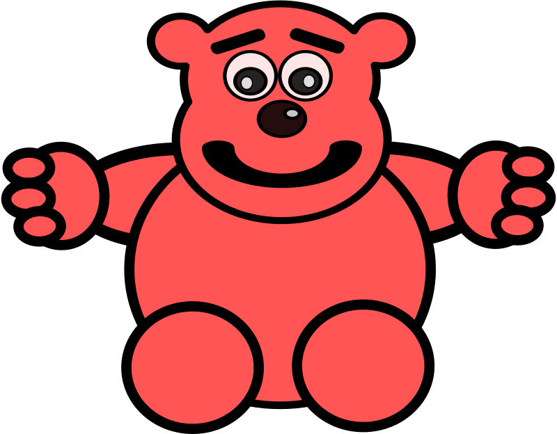 Mess With This Bear by FunDraw_dot_com - Here's a teddy bear.