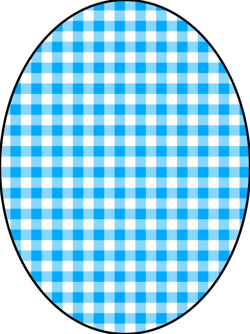 pattern checkered vichy 04 blue by pitr