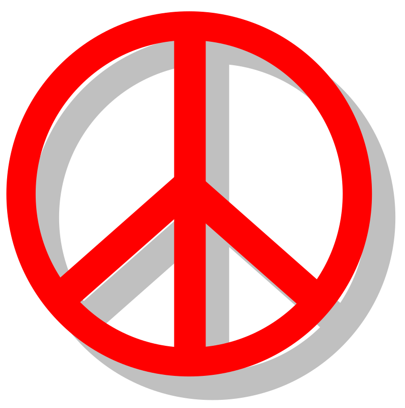 peace sign by bugmenot - This is a simple peace sign made by me