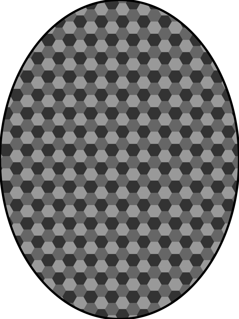 pattern honeycomb gray by pitr - Simple geometric pattern