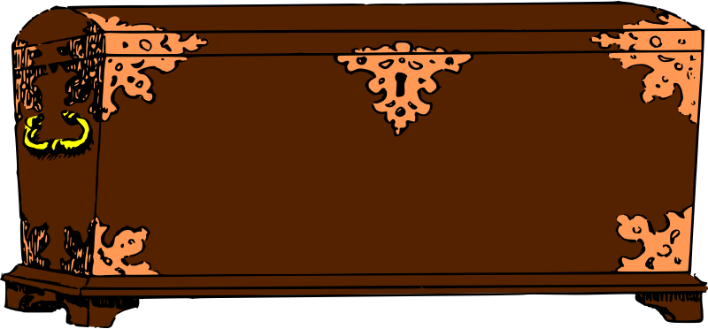 Old Chest by jzedlitz - an old chest