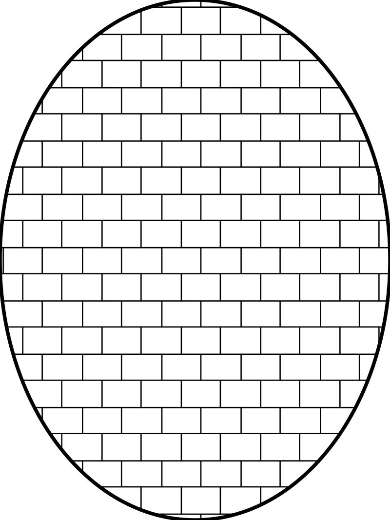 pattern brick outline by pitr - Brick wall pattern.