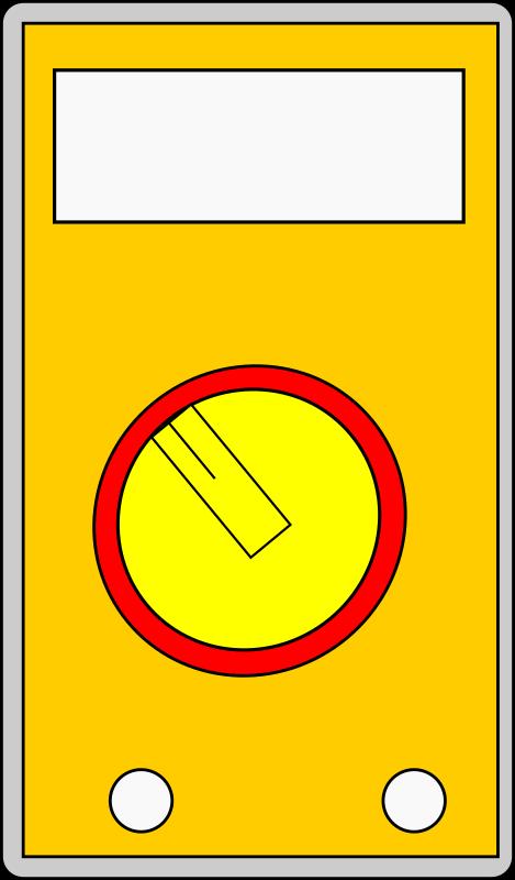 Multimeter Clip Art : Clipart multimeter