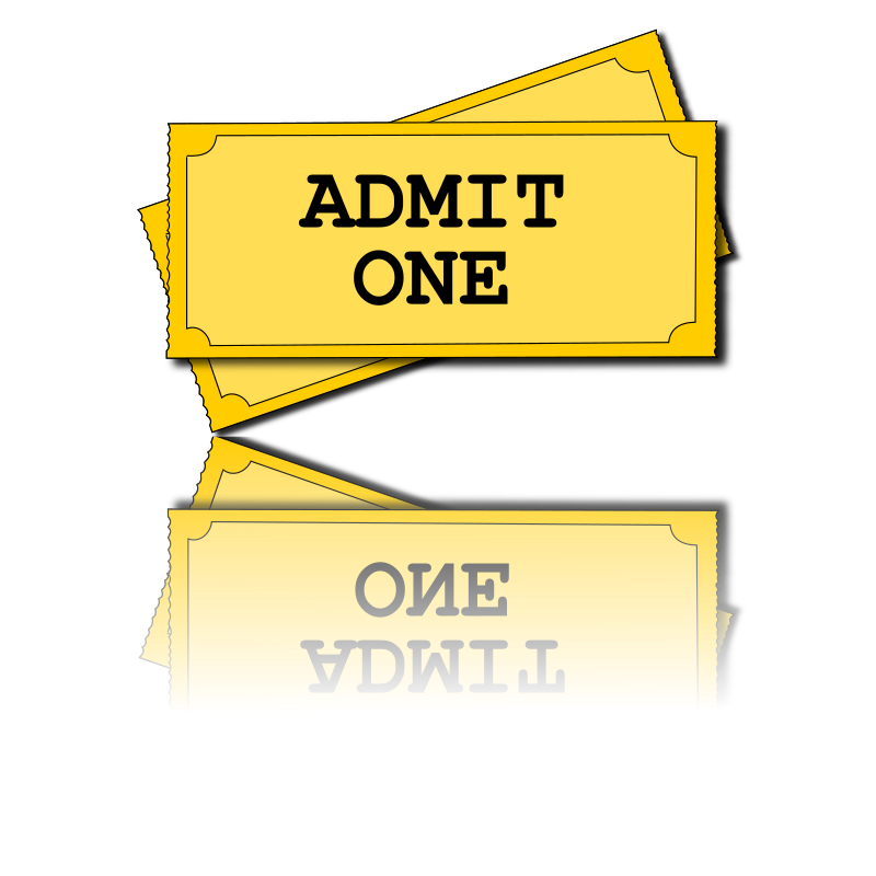 movie tickets by dniezby - Ok, I fixed the disappearing text in the tickets. 