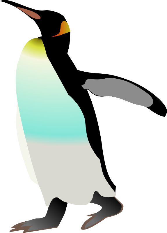 emperor penguin by Anonymous - originally uploaded by raif from OCAL 0.18  If this is your clipart, please reclaim it by emailing love@openclipart.org.