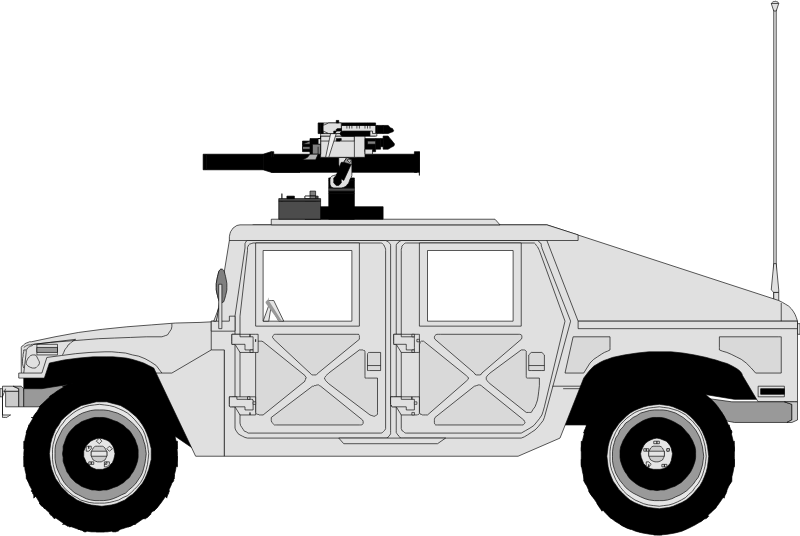 hummer 02 by Anonymous - public domain art uploaded anonymously from OCAL 0.18