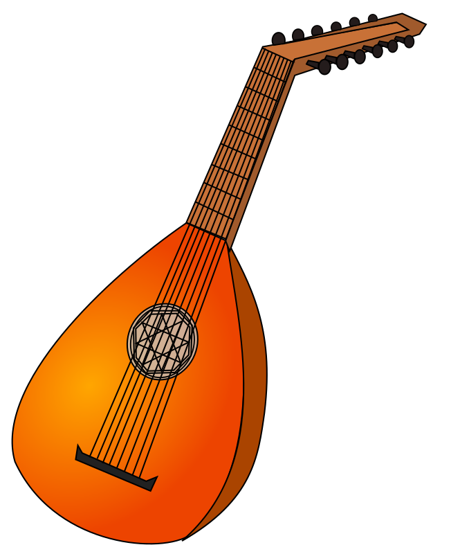 lute 1 by papapishu - My first musical instrument... using Bezier curves.