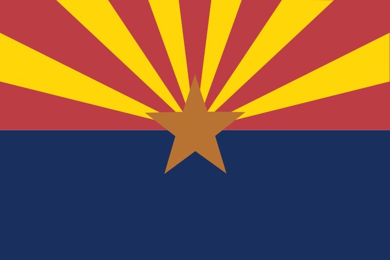 usa arizona by Anonymous - public domain files from OCAL 0.18