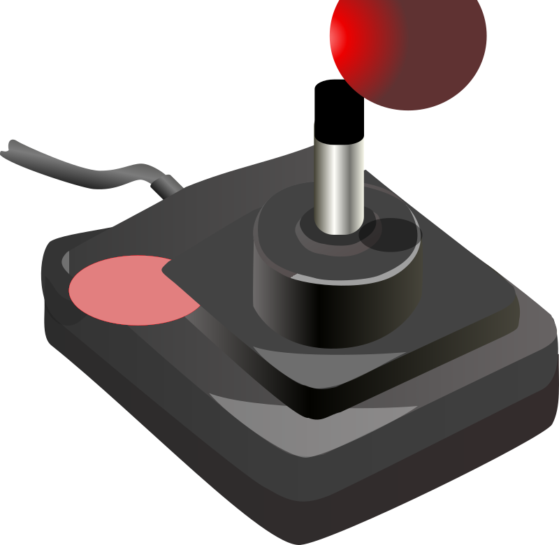 joystick black red petri 01 by Anonymous - originally uploaded by Petri Lummemaki from OCAL 0.18