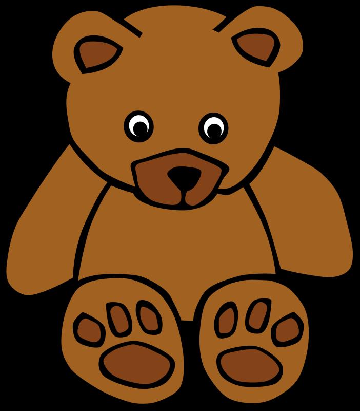 Clipart - Simple Teddy Bear