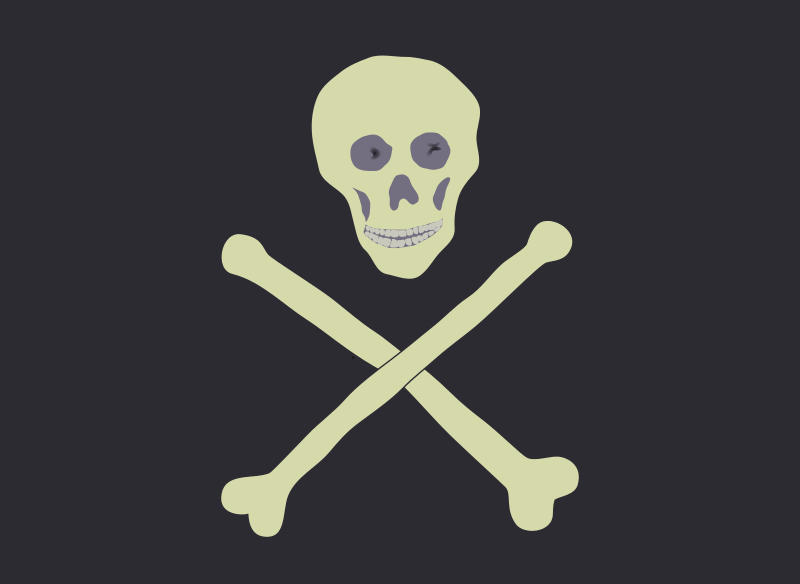 Jolly Roger by zeimusu - Based on a genuine pirate flag