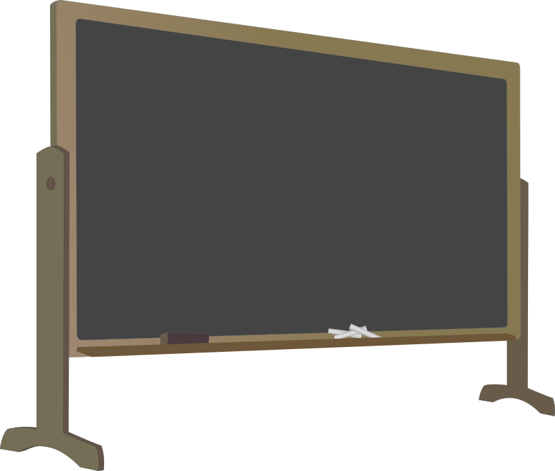 Blackboard with Stand by J_Alves