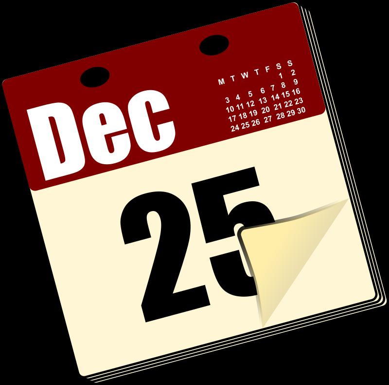 Clipart - Calendar