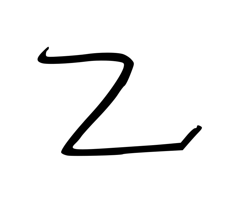 Clipart - Letter Z