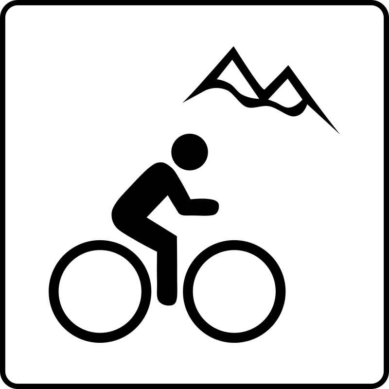 Hotel Icon Near Mountain Biking by Gerald_G - Hotel Icons. Originally done for a request, this set has been re-mixed to simple black and white versions.