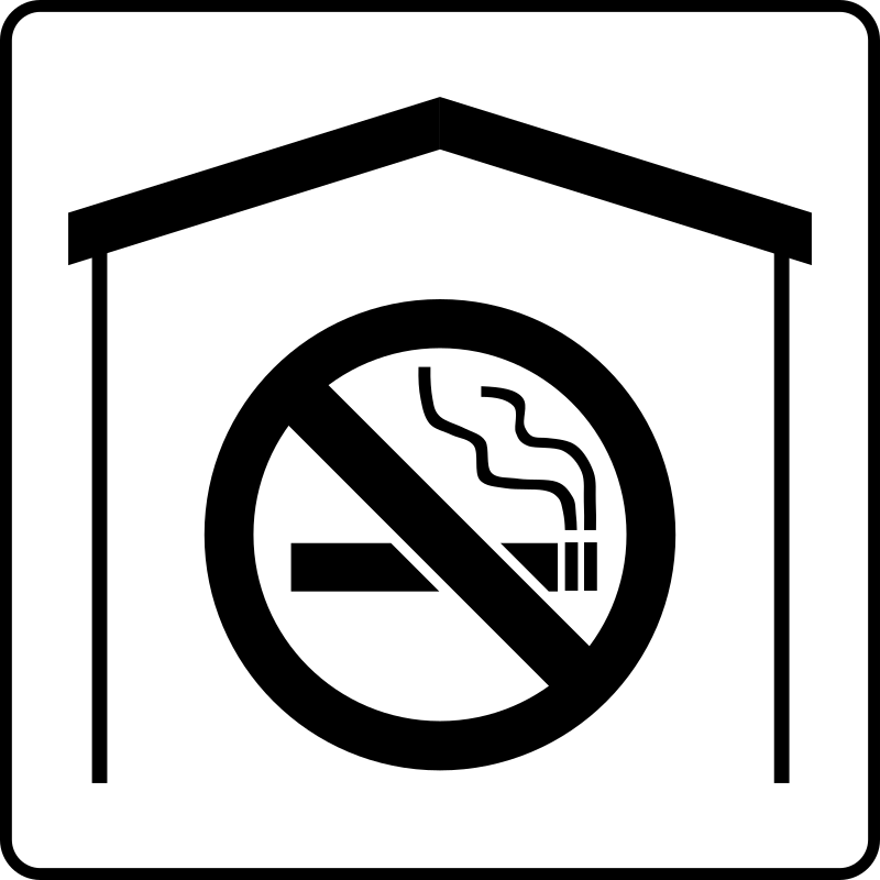Hotel Icon No Smoking In Room by Gerald_G - Hotel Icons. Originally done for a request, this set has been re-mixed to simple black and white versions.