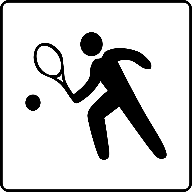 Hotel Icon Has Tennis Court by Gerald_G - Hotel Icons. Originally done for a request, this set has been re-mixed to simple black and white versions.