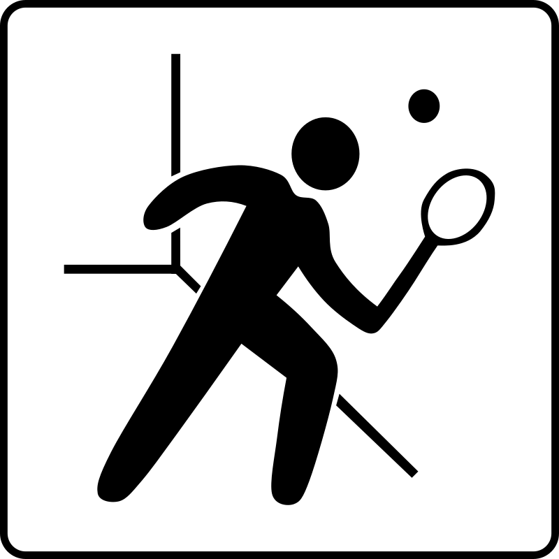 Hotel Icon Has Squash Court by Gerald_G - Hotel Icons. Originally done for a request, this set has been re-mixed to simple black and white versions.