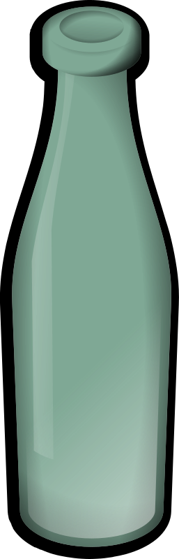 Glass 2 by jonata - A glass bottle.