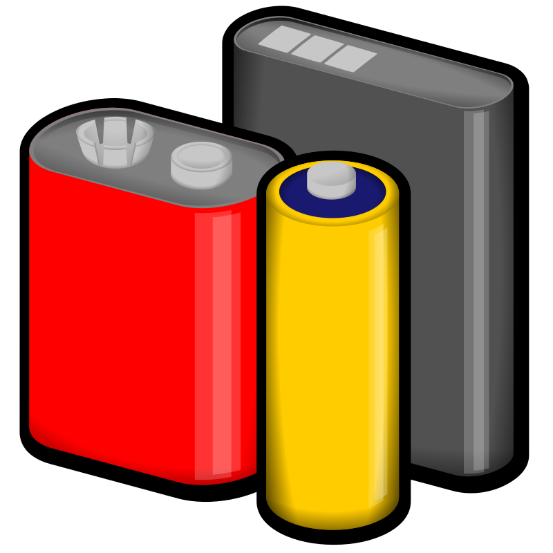 batteries by jonata - Batteries in multiple sizes.