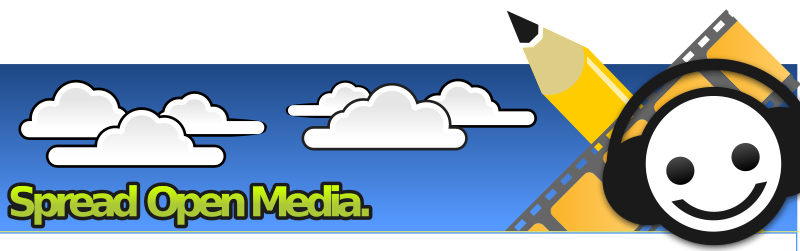 SOM Banner Clouds and Sky by mairin - A banner for SpreadOpenMedia
