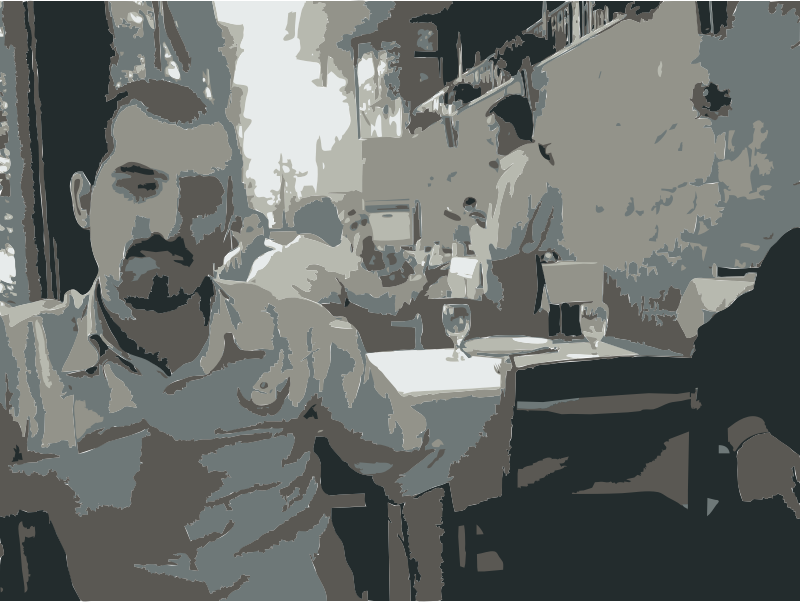 Bassel in Damascus by rejon - These are images from my 2010 travels I've converted with this command: