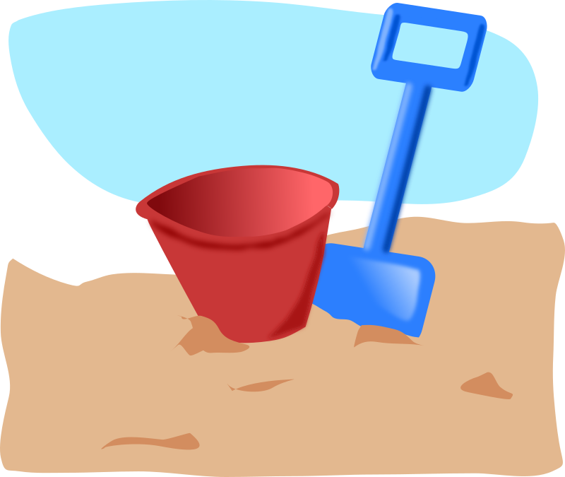 Clipart - bucket and s...