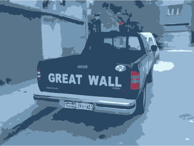 Great Wall Truck in Syria by rejon - These are images from my 2010 travels I've converted with this command: