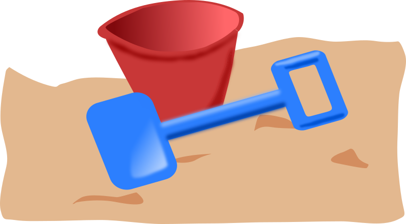 bucket and spade 2 by addon - Kid's bucket and spade.