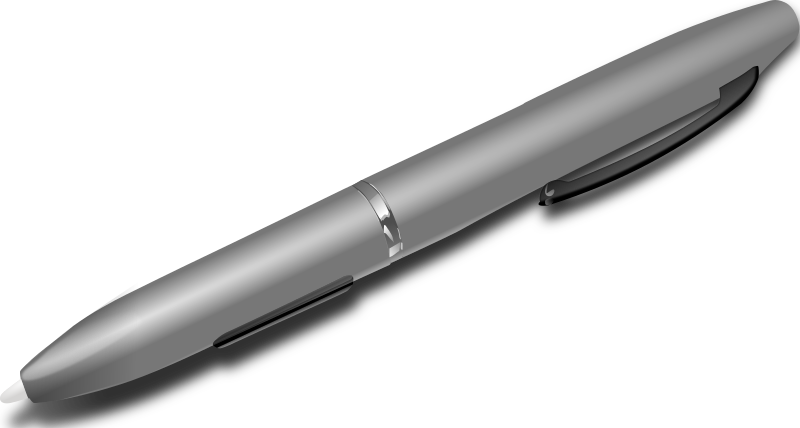 Tablet Pen by tonyk - This is a vector image of a tablet pen
