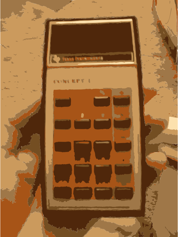 More Old Calculator by rejon