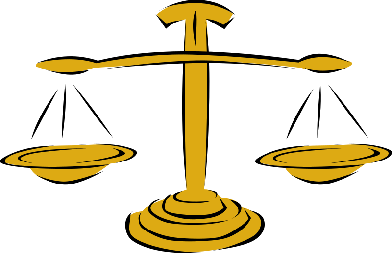 Legal scales graphic