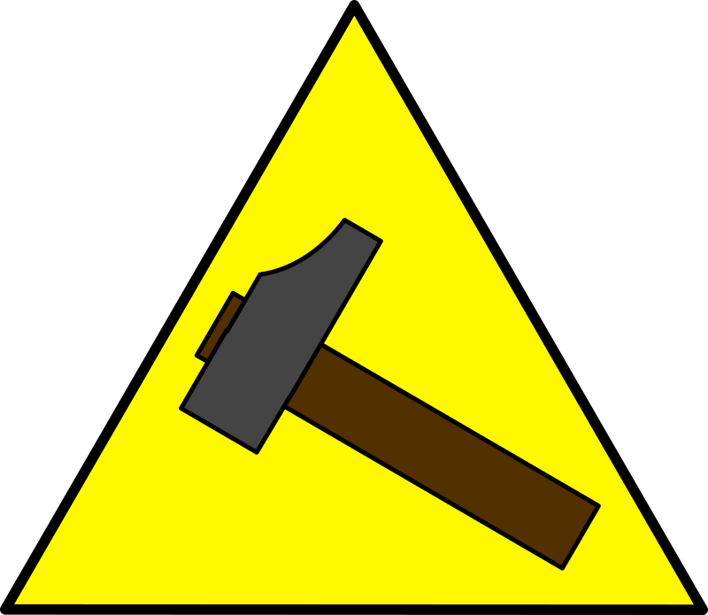 hammer sign by mcol