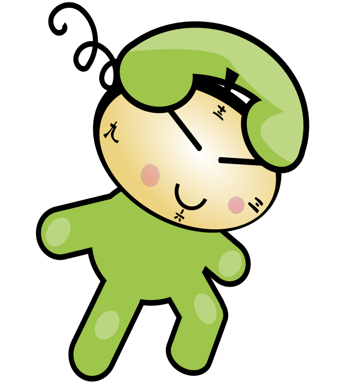 Cartoon Characters Voice Changer : Clipart cute phone clock character