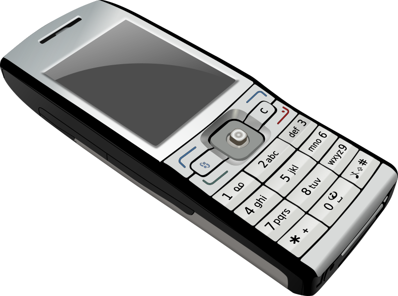 phone by tonyk - A photorealistic cell phone.