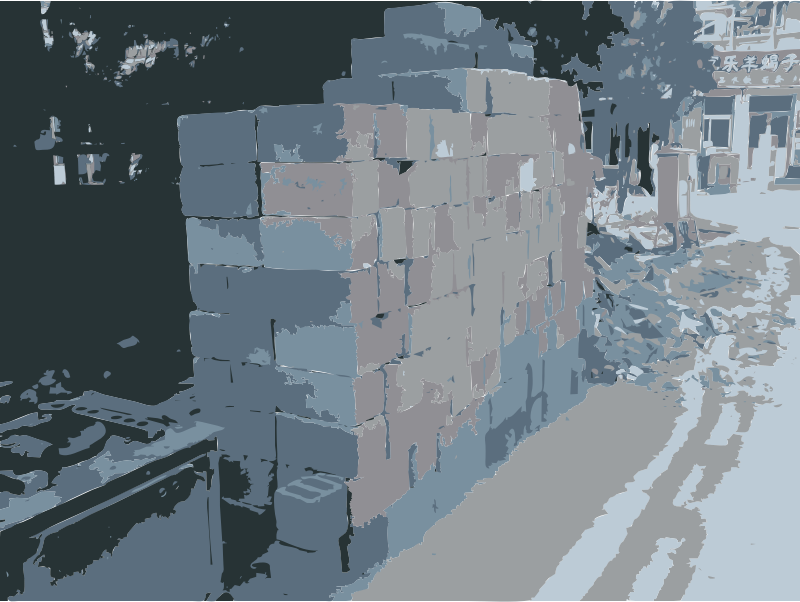 caochangdi brickpile by rejon - These are images from my 2010 travels I've converted with this command: