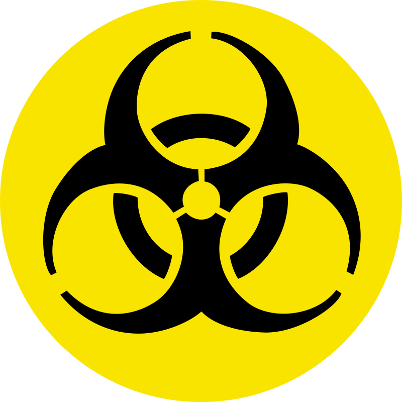 Biological Safety by doctormo - A simple roundel of the bio-hazard sign.