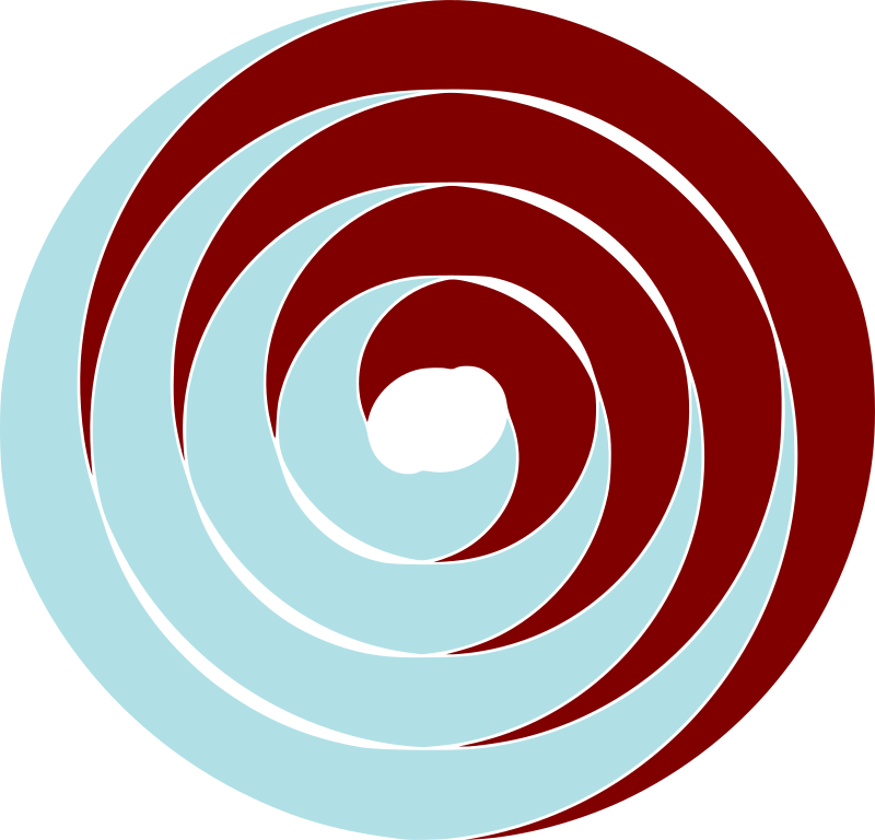 double spiral by tom - double spirals make in inkscape
