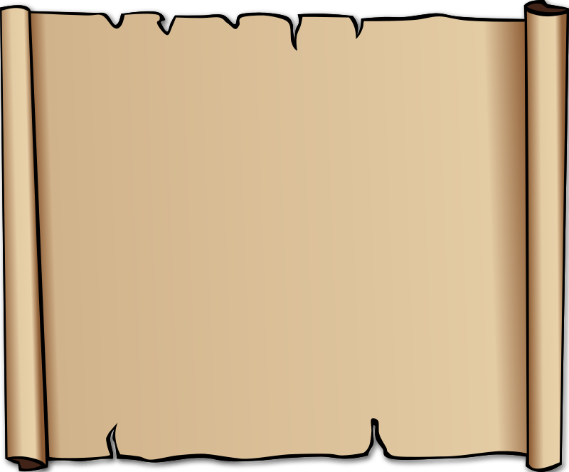 Clipart - Parchment Background or Border
