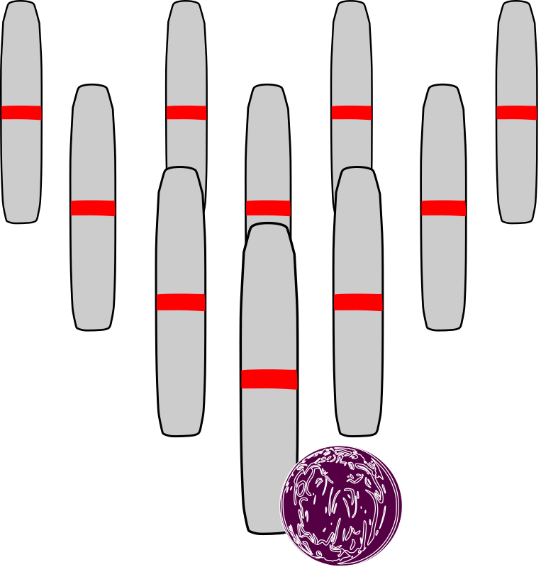Bowling Candlepins by mazeo