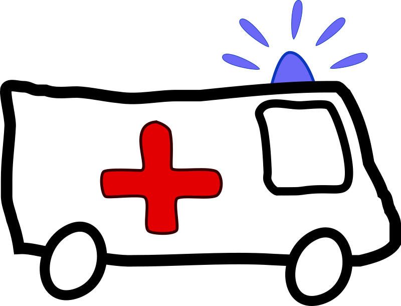 Clipart - Ambulance: https://openclipart.org/detail/57853/ambulance-by-pointal