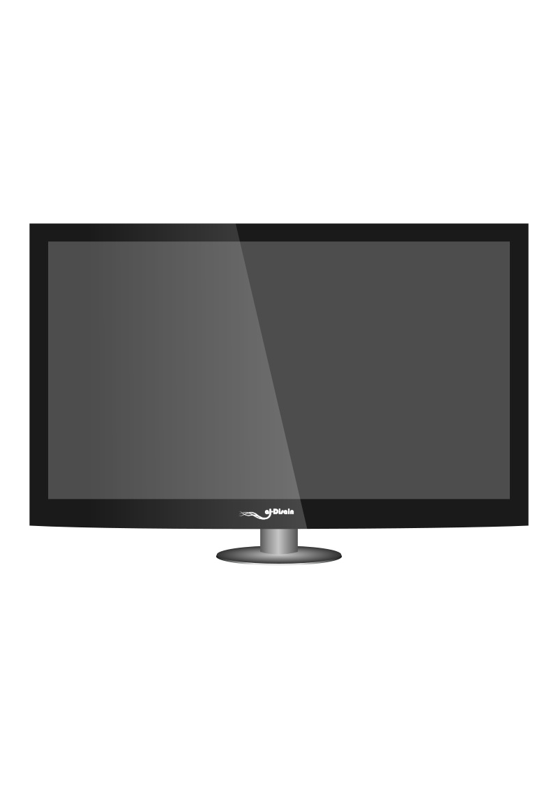Just another Plasma TV by abu ilyas - Just want to make a simple plasma TV for something I want to create in http://aldisain.wordpress.com