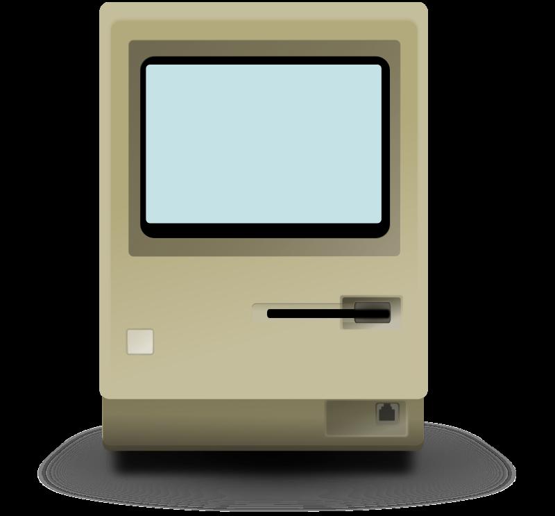 computer screen clipart