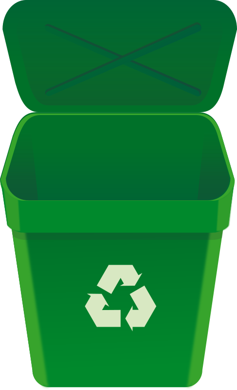 recycle can by rg1024 - the symbol is form mzsinger.