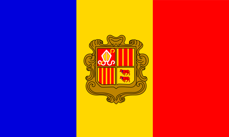 andorre flag patricia f 05r by Anonymous - originally uploaded by Patricia Fidi from OCAL 0.18
