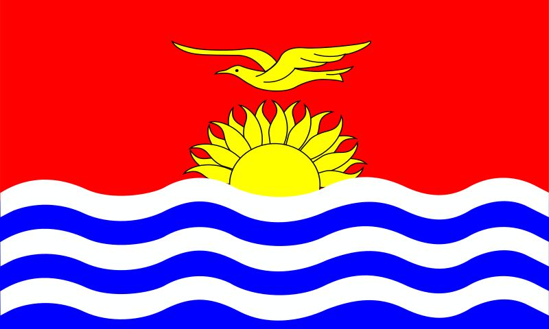 kiribati flag patricia  08r by Anonymous - originally uploaded by Patricia Fidi from OCAL 0.18