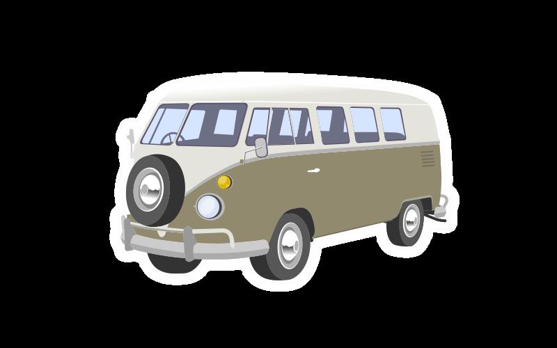 Clipart Camper Van